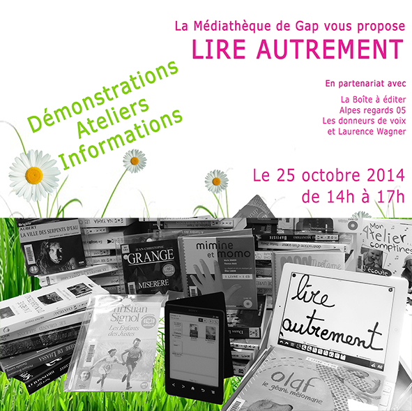 salon lire autrement-mediathéque-gap