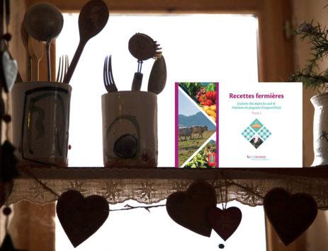 découverte du livre recette fermiere