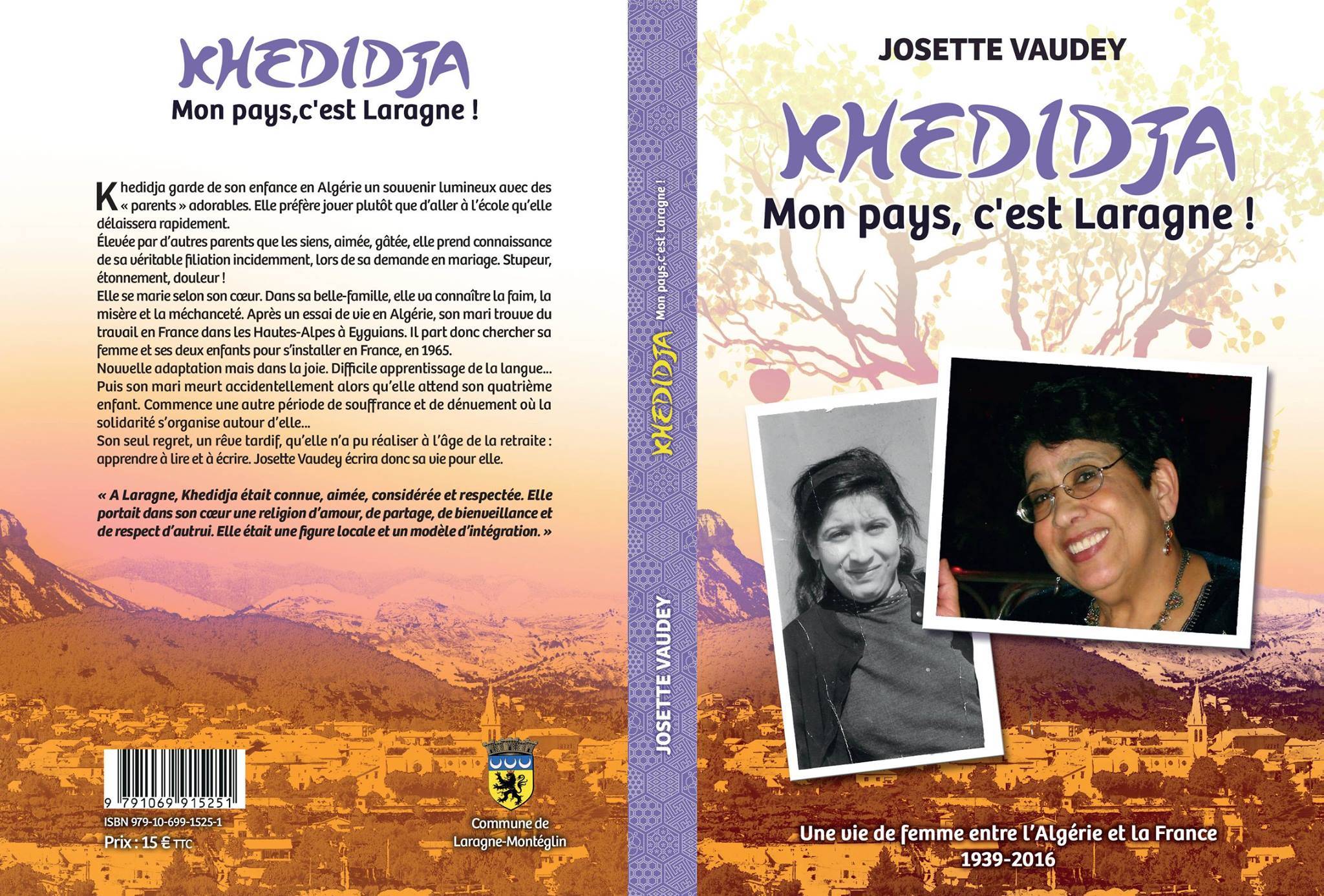 Couverture du livre de josette Vaudey