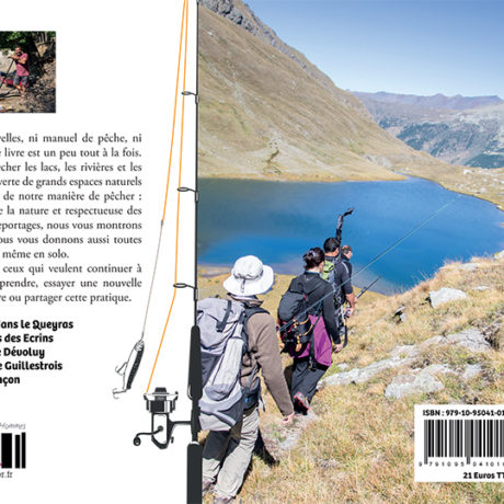 Carnet de pêches en montagne – dos
